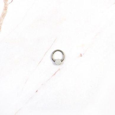 Piercing full moon silver - Jewels by Moon