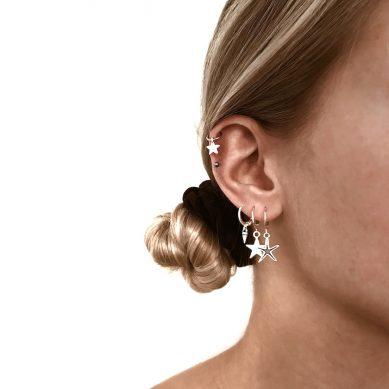 Piercing star silver - Jewels by Moon