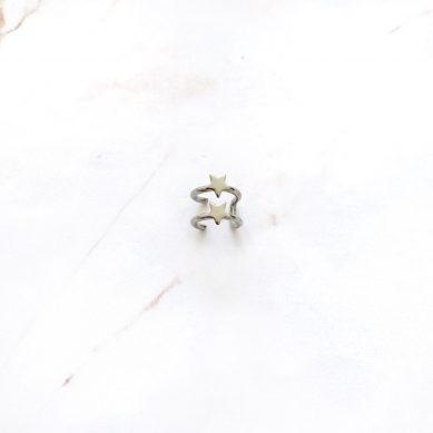 Ear Cuff star silver - Jewels by Moon